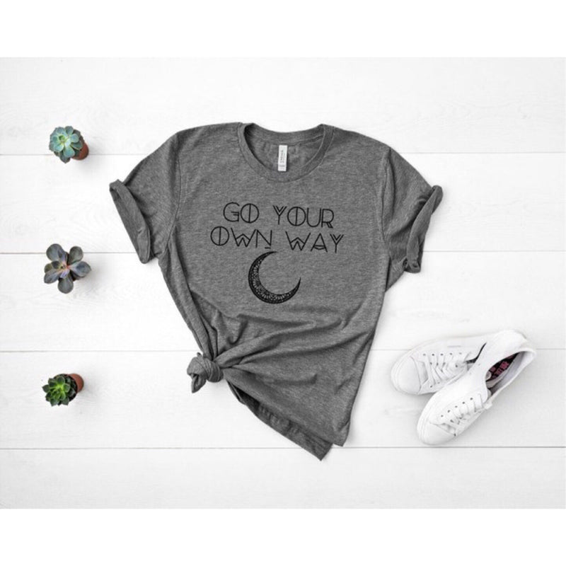 Go Your Own Way Graphic Tee - HeartsEase Clothing