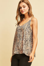 ONE LEFT Reptile Print Cami - HeartsEase Clothing