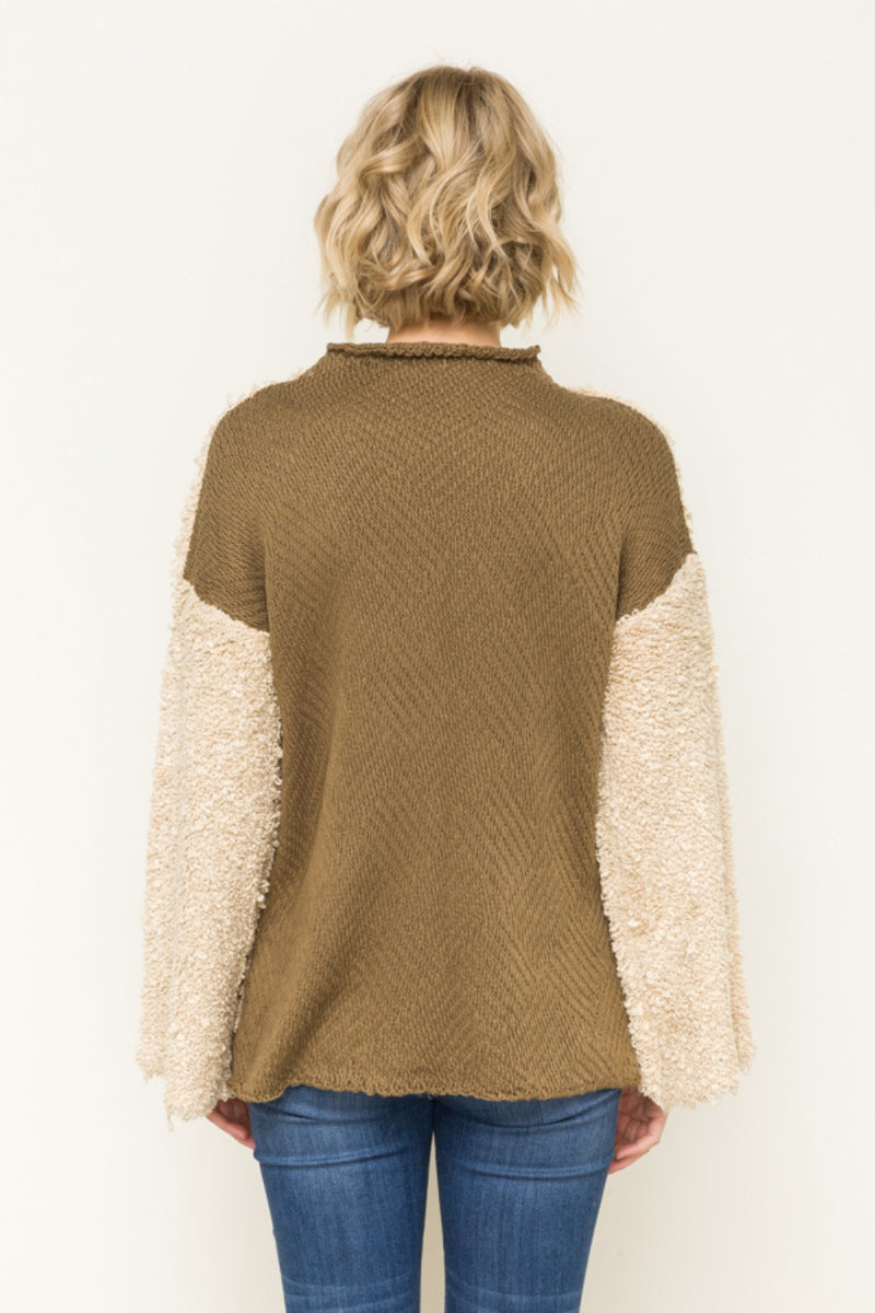 Bell Sleeved Sweater - HeartsEase Clothing