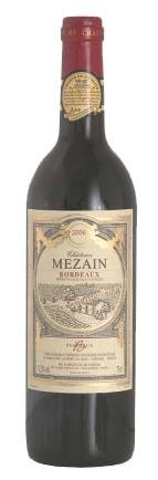 Chateau Mezain - Bordeaux Rouge A.O.C. - Gustomo Shop