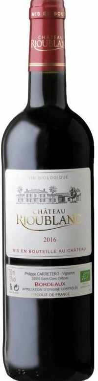 Chateau Rioublanc - Rouge Bordeaux Bio (DE-ÖKO-003 ) - Gustomo Shop