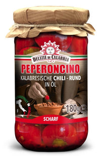 Delizie di Calabria - Chili´s Rund in Öl 180g - Gustomo Shop