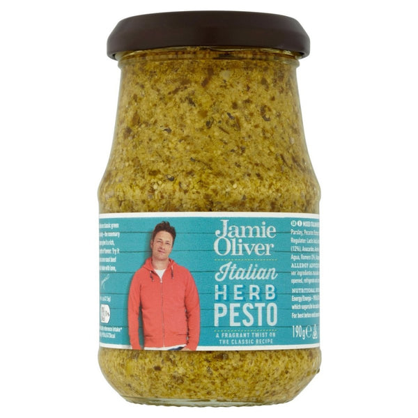 "Jamie Oliver - ""Italian Herb Pesto"" 190g - Gustomo Shop"
