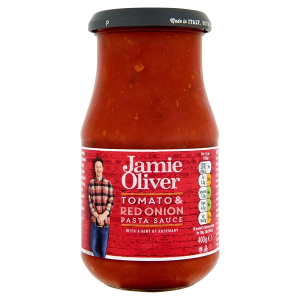 "Jamie Oliver - ""Red Onion & Rosemary"" Pasta Sauce 400g - Gustomo Shop"