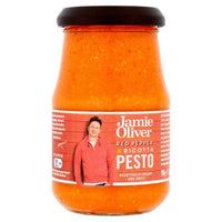 "Jamie Oliver - ""Red Pepper & Ricotta Pesto"" 190 g - Gustomo Shop"