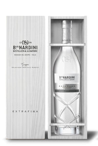 Nardini - Grappa Bianca Extrafina in der Holzkiste 0,7l 42% - Gustomo Shop