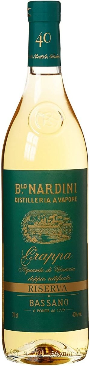 Nardini - Grappa Riserva 0,7l 40% - Gustomo Shop