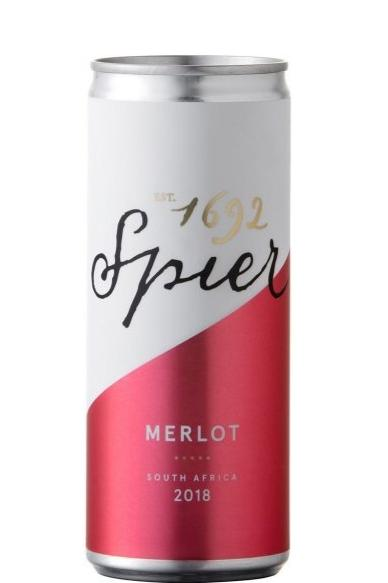 Spier - Merlot in der 250ml Dose - Gustomo Shop