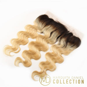 Mink Blonde Frontal 13x4