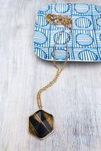 Load image into Gallery viewer, Salma Tortoise Pendant Necklace-Necklace-Hazel & Indigo