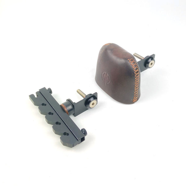 BOLT DOWN 2 PIECE BROWN 5 ARROW BOW QUIVER