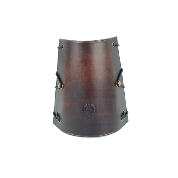 LEATHER ARM GUARD BROWN