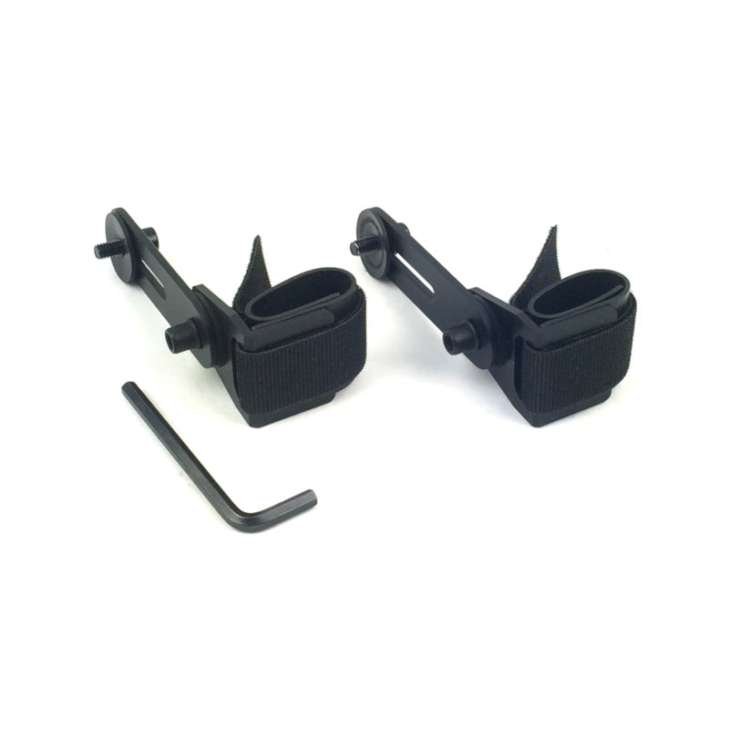 STRAP DOWN 2 PIECE SET BACK BRACKETS - marksman-quivers