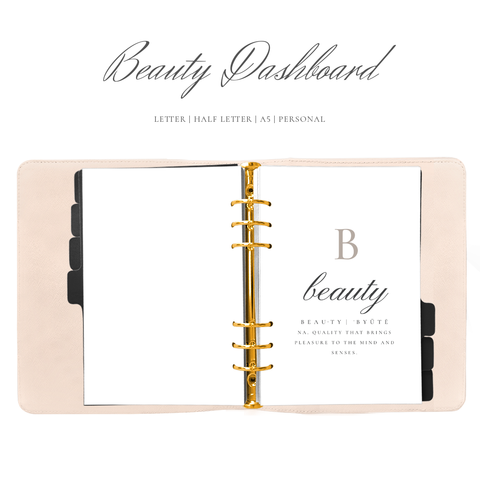 BEAUTY DASHBOARD