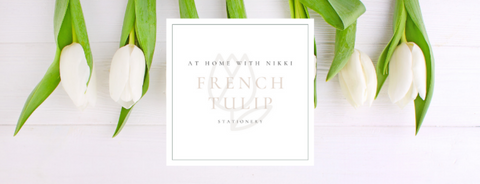 French Tulip Stationery Gift Card