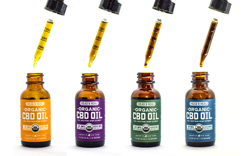 What is the difference between the CBD Oils?