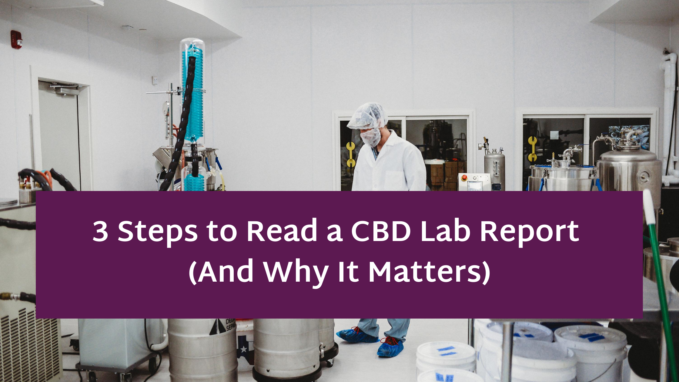 3 Steps to Read a CBD Lab Report (And Why It Matters)