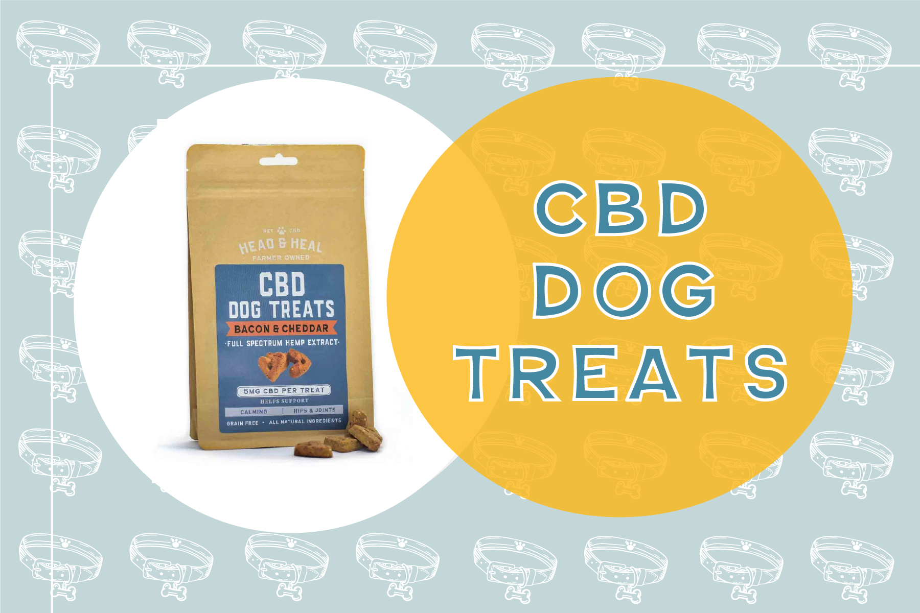 NEW! CBD treats for the anxious dog