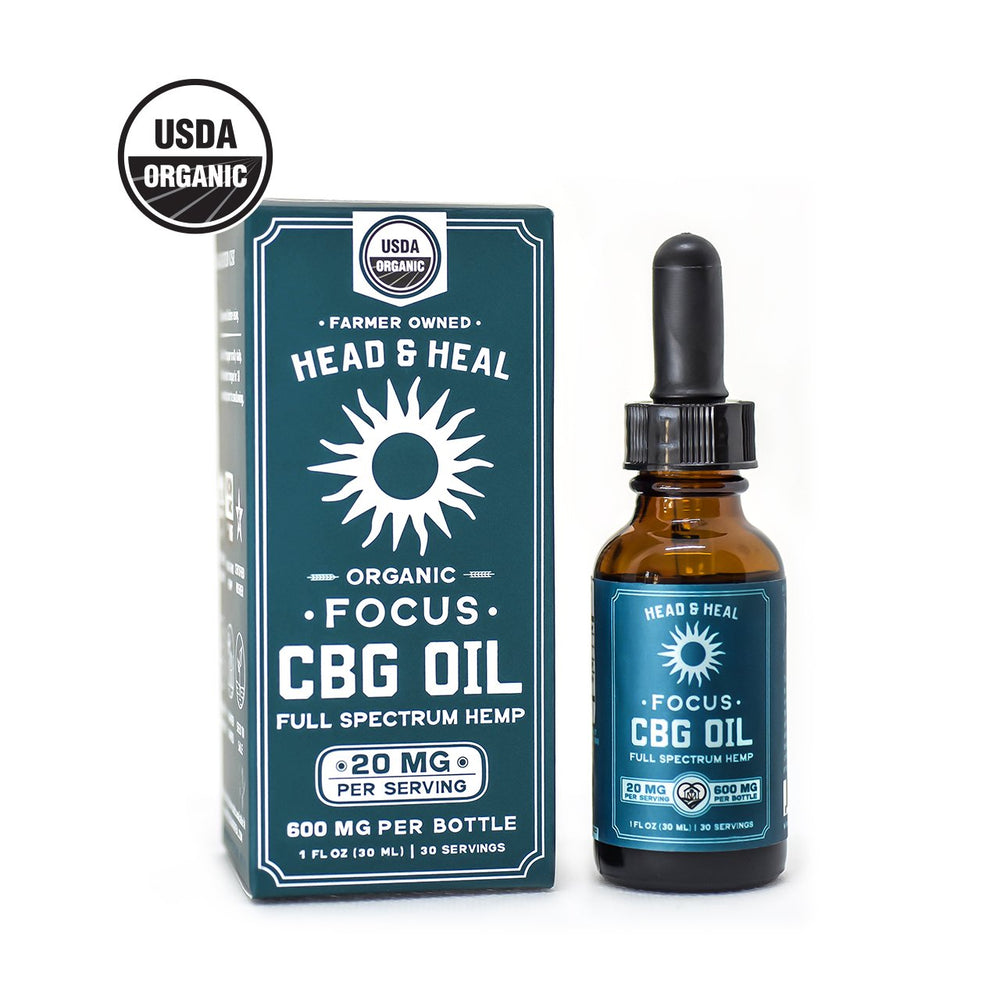 Focus - CBG Oil / Buy 4 Get 1 Free