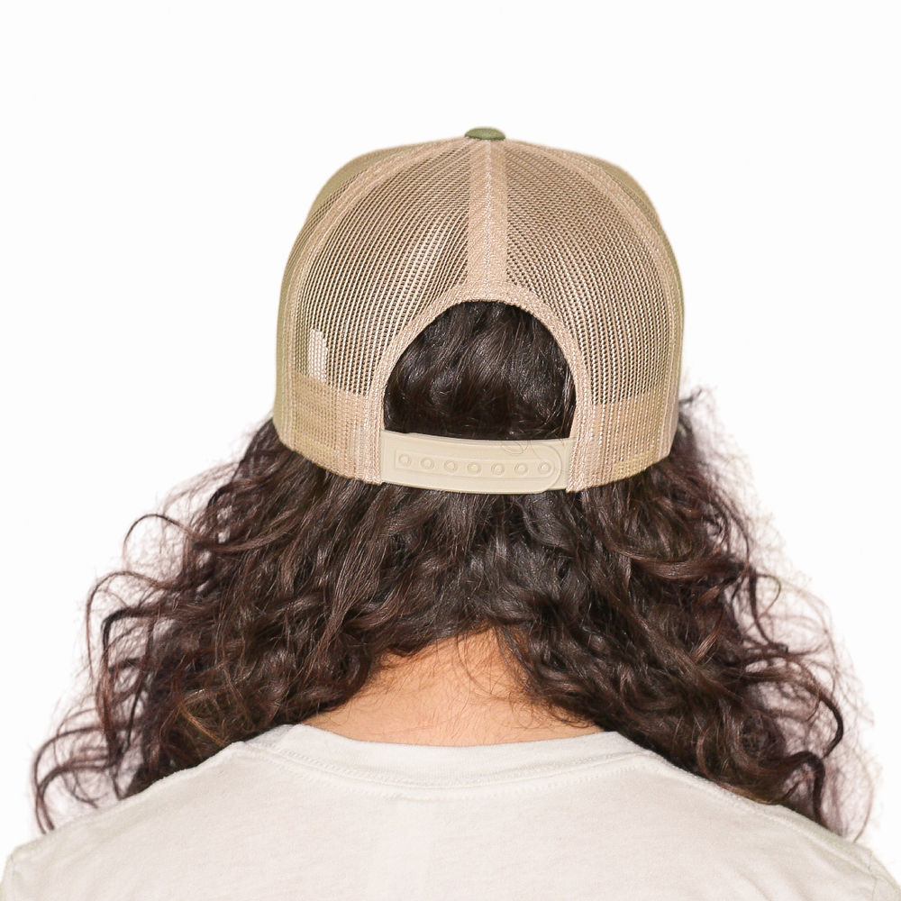 Head & Heal Trucker (Sage Green & Khaki)