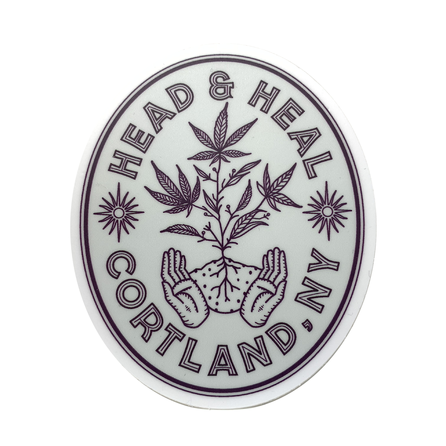 Head & Heal - Soil, Seed, Water, and Sun Sticker