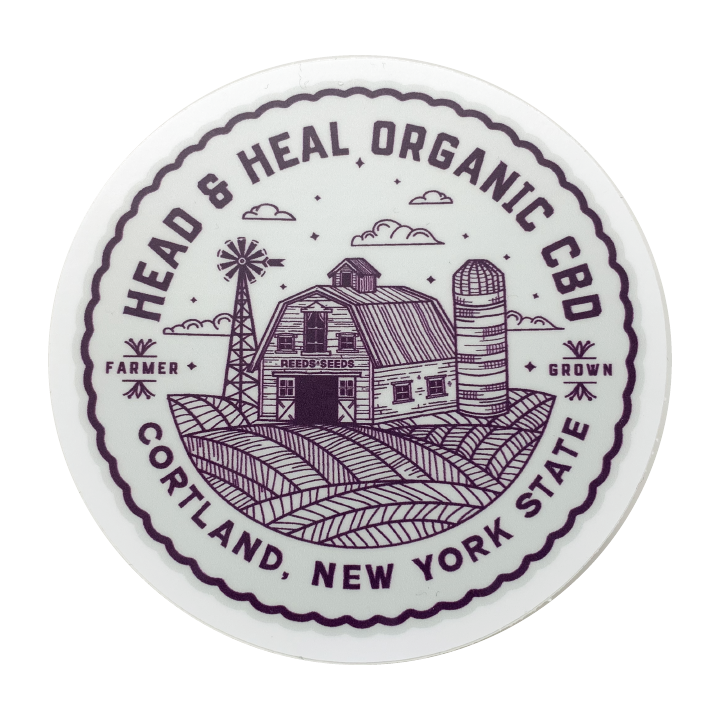 Head & Heal - Barn Sticker