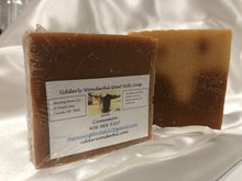 Load image into Gallery viewer, Goat Milk Soaps: Cinnamon. 4.8 oz bars
