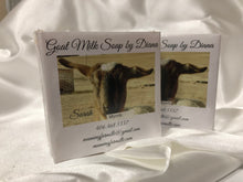 Load image into Gallery viewer, Goat Milk Soaps: Myrrh. 4.8 oz bars