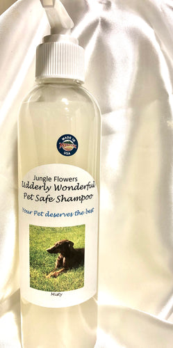 Pet Safe Shampoo,   Jungle Flowers. 8 oz
