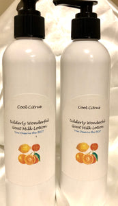 Body Lotion with a touch of Citrus