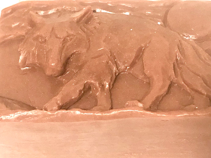 Wolf soap with cedarwood essential oil