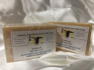 Patchouli. Goat Milk Soap 4.8 oz bars