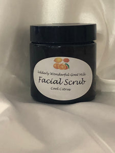 Facial Scrub with Sea Salt