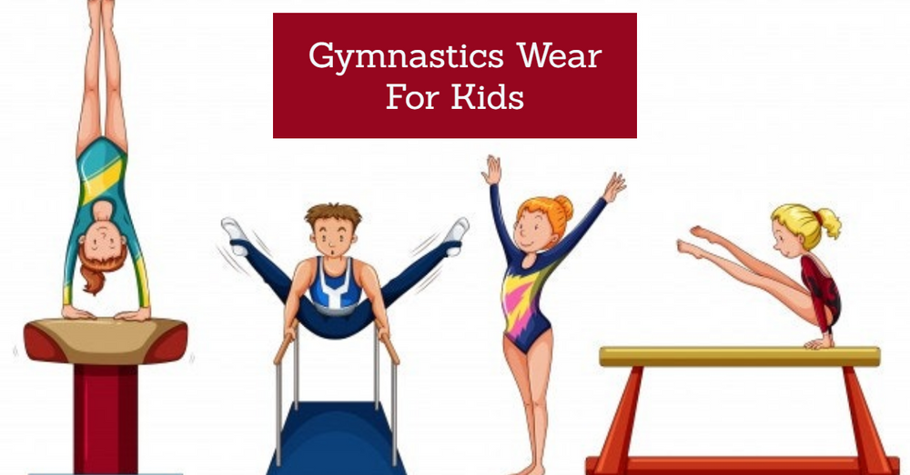 Best Gymnastic wears for kids that will help them look cool