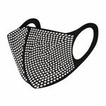 Kids & Adults Rhinestone Fashion Face Mask - varsanystore