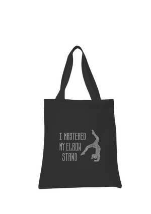 I Mastered My Elbow Stand Tote Bag - varsanystore