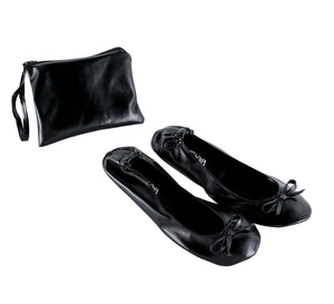 Foldable Satin Flats/Shoes for After Party - varsanystore