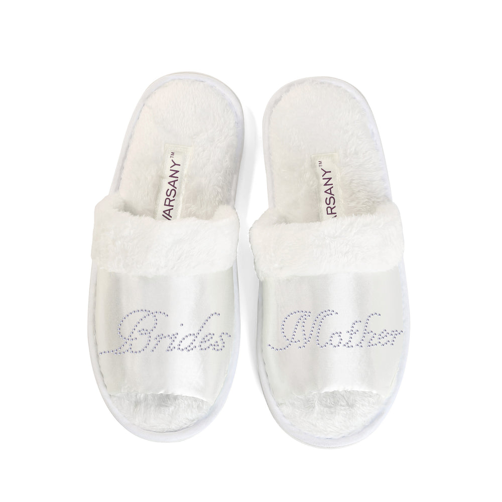 Brides Mother Party Spa Open Toe Slippers - varsanystore