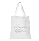 Brides Sister Wedding Tote Bag - varsanystore