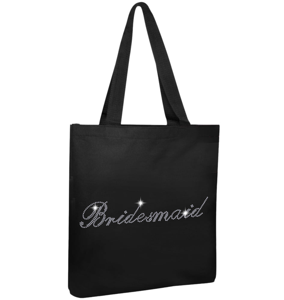 Crystals Bridesmaid Wedding Tote Bag - Varsany