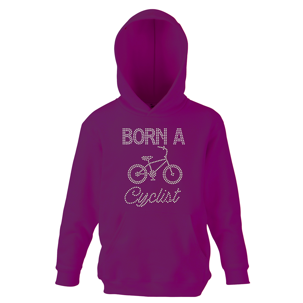 Born A Cyclist Hoodie - varsanystore