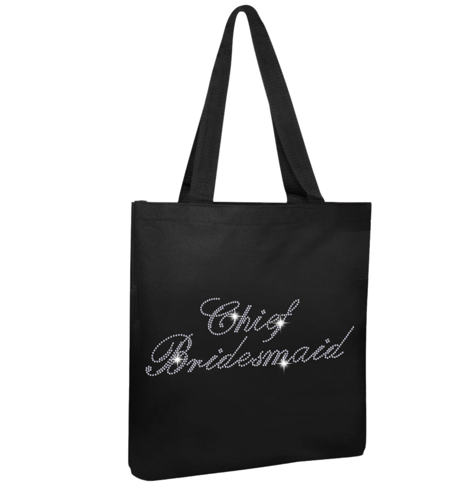 Chief Bridesmaid Wedding Tote Bag - varsanystore