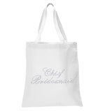 Crystals Chief Bridesmaid Wedding Tote Bag - varsanystore