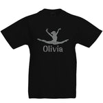 Personalised Gymnastic Inspired Jump Split T-Shirt - varsanystore