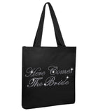Here Comes The Bride Wedding Tote Bag - varsanystore