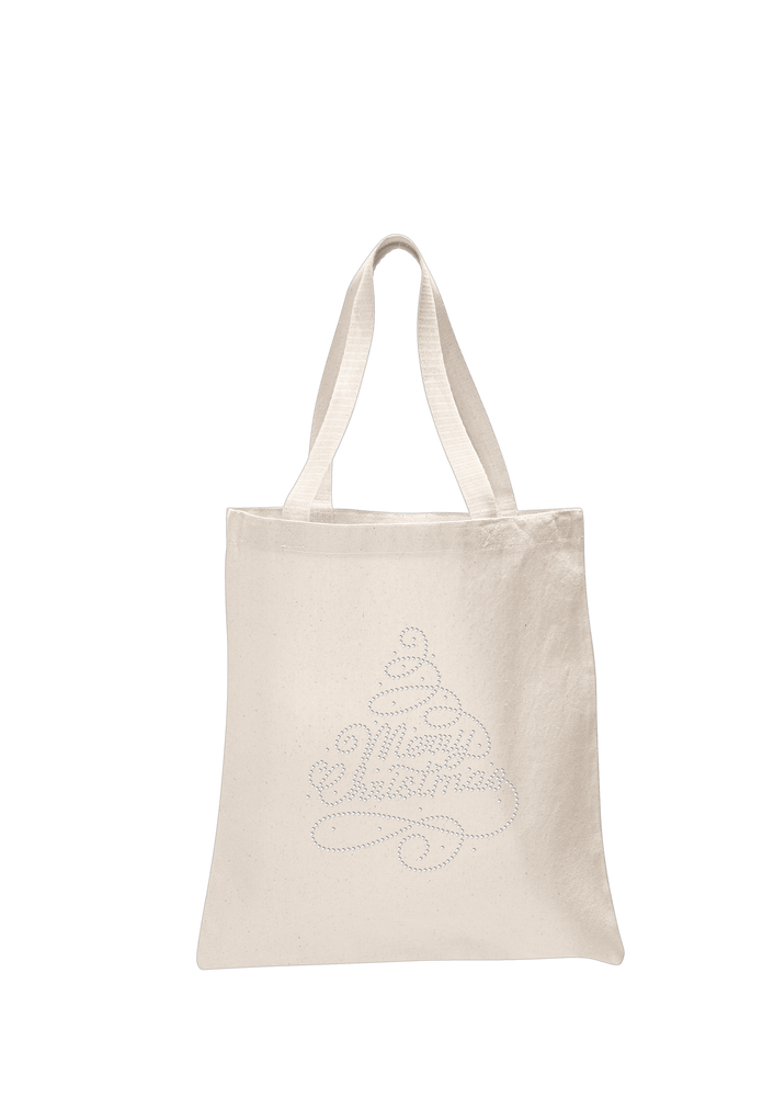 Merry Christmas Tree Tote Bag - varsanystore
