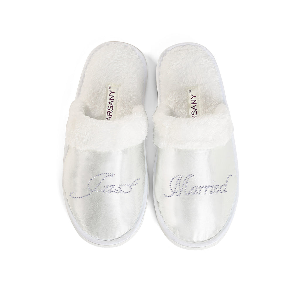 Just Married Spa Slippers - varsanystore
