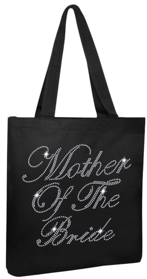 Crystals Mother of the Bride Wedding Tote Bag - varsanystore
