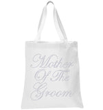 Crystals Mother of the Groom Wedding Tote Bag - varsanystore