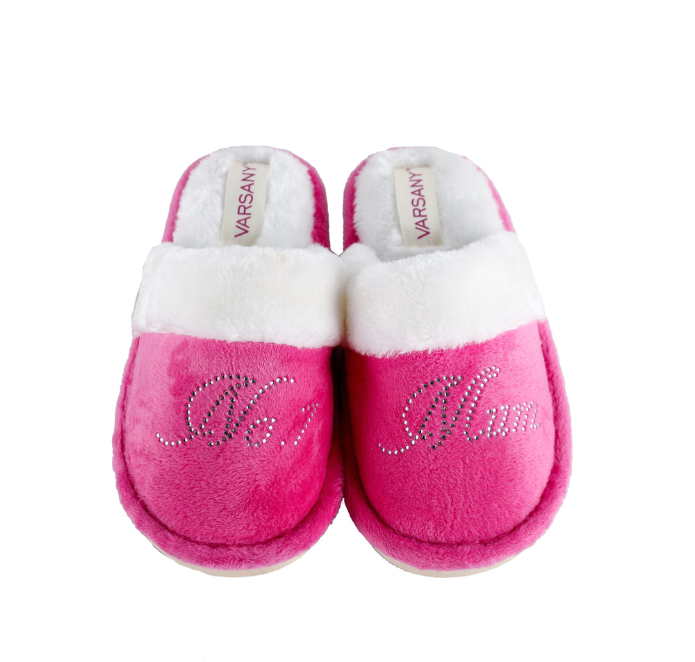 Pink No.1 Mum House Slippers - varsanystore